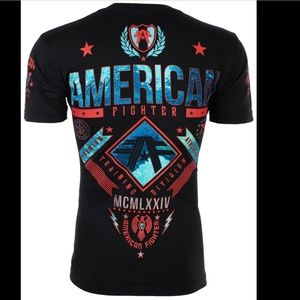 New! Men's American Fighter Shirt Size M